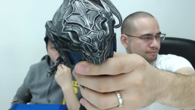 Dark Souls SD Artorias Head Close Up