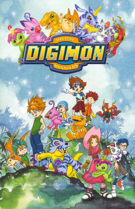 Digimon F4F TT Poster