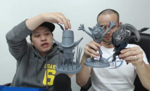 First4Figures Dark Souls SD PVC Prototypes Solaire Artorias