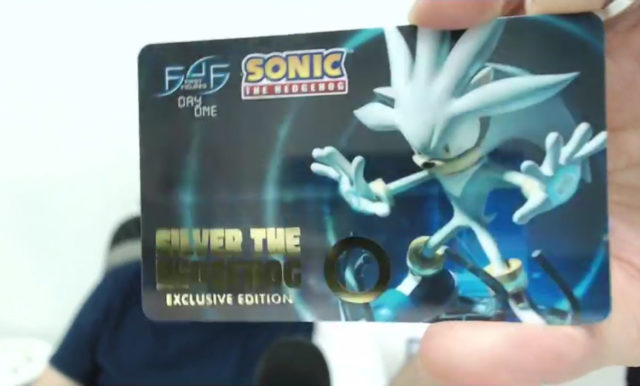 First4Figures Silver Day One Exclusive Card