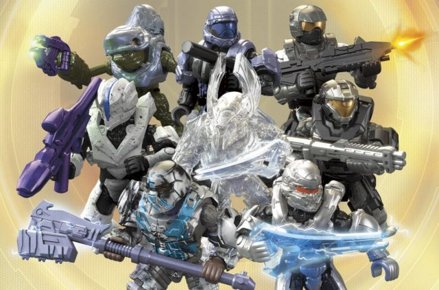 Halo Mega Bloks Stormbound Series Figures