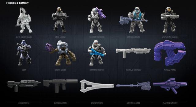 Halo Mega Construx Stormbound Series Code Number List