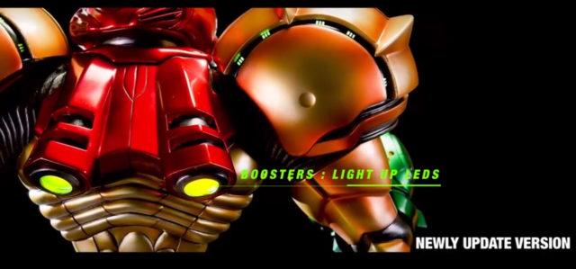 Light Up Booster LEDs Varia Suit Samus