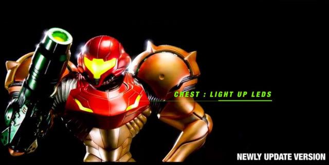 Light Up Chest LEDs Varia Suit Samus