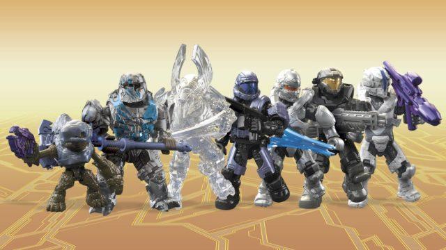 Code List Halo Mega Construx Stormbound Figures Series