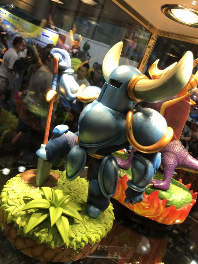 Side View of F4F Shovel Knight Figure Statue