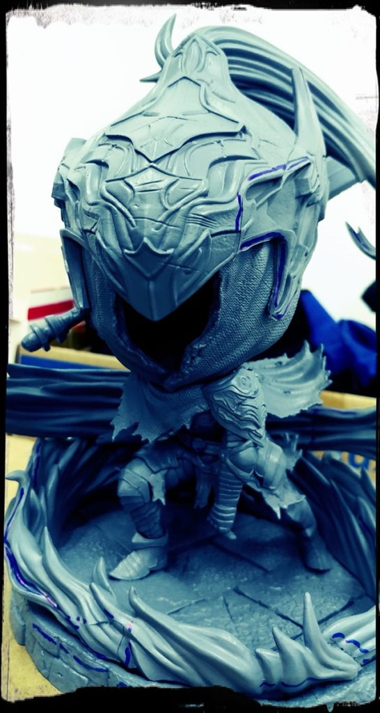 First4Figures Artorias the Abysswalker SD Test Shot Prototype