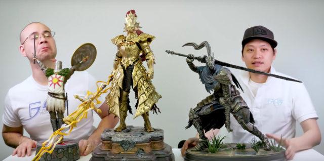Dark Souls Statues Size Comparison Photo Ornstein Solaire Artorias