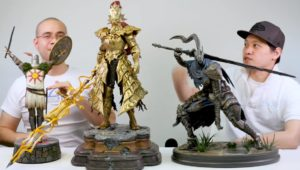 F4F Dark Souls Statues Comparison Photo Solaire Ornstein Artorias