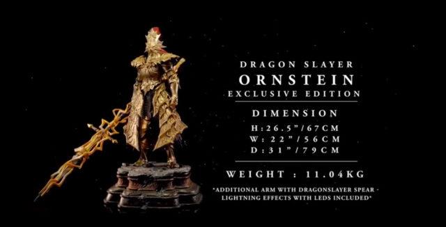 F4F Dragon Slayer Ornstein Statue Exclusive Edition Dimensions