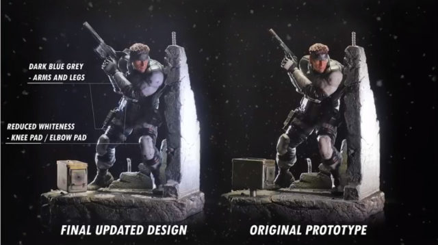 F4F MGS Solid Snake Final Updated Design Comparison