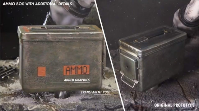 First 4 Figures Solid Snake Revised Ammo Box Details
