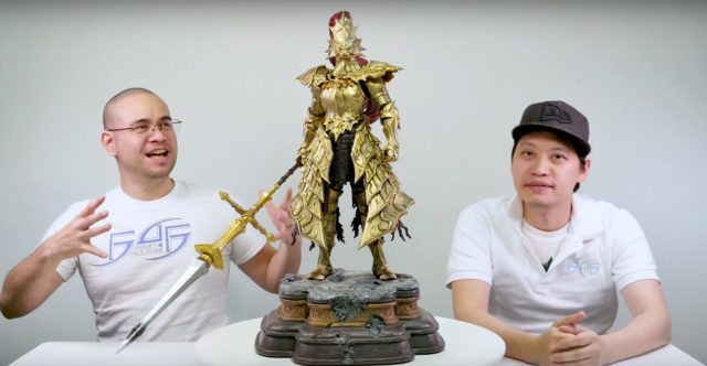 Making of Ornstein Dark Souls Statue Documentary