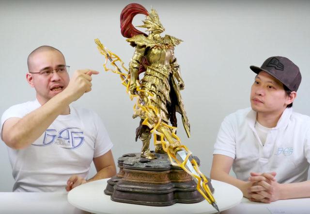 Ornstein Exclusive Statue Lightning Spear