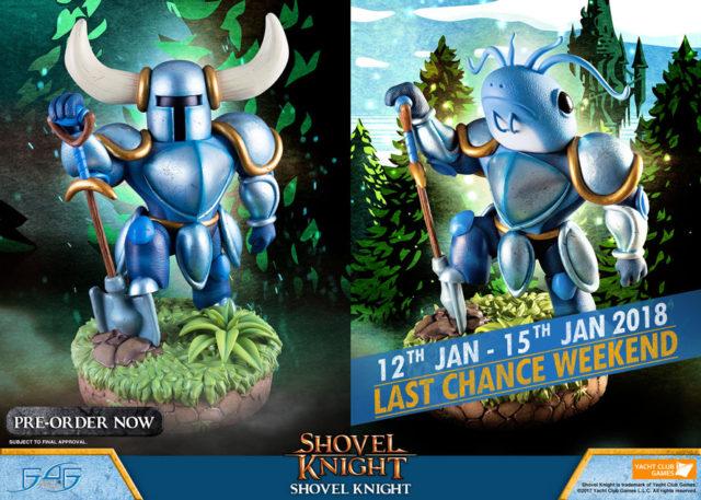 Shovel Knight Last Chance Weekend Banner