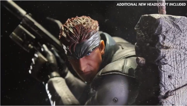 Solid Snake F4F Additional Head Sculpt