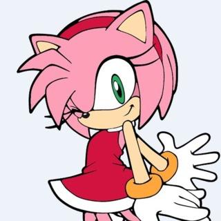 Sonic Adventure Amy Rose Winking