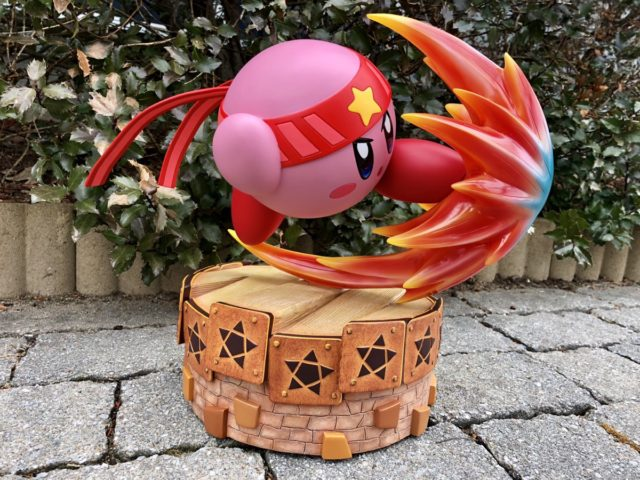 First4Figures Fighter Kirby Statue Side View