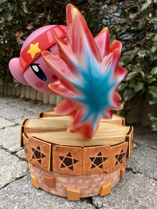 Effects Piece on First 4 Figures Fighter Kirby Statue