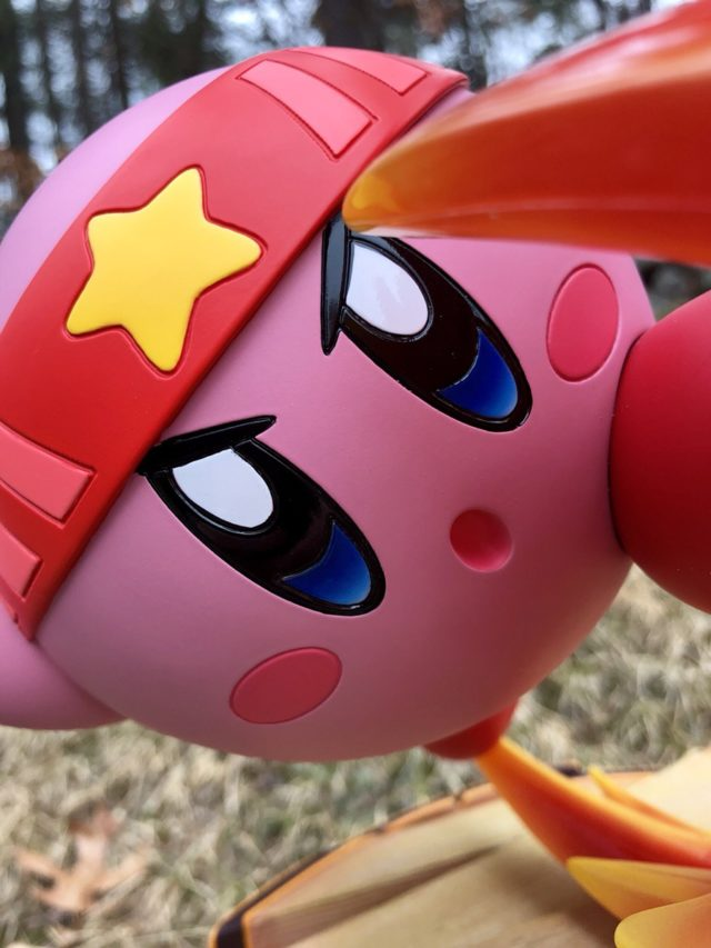 Close-Up of Fighter Kirby F4F Statue Face