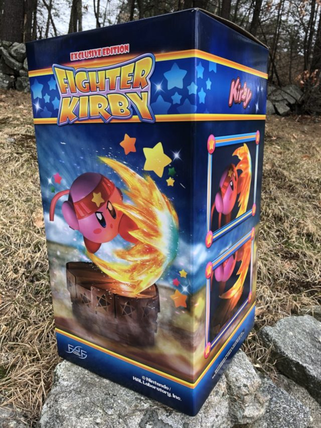 Review F4F Fighter Kirby Statue Art Box