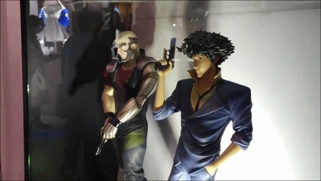 F4F Cowboy Bebop Spike and Jet Statues at C3