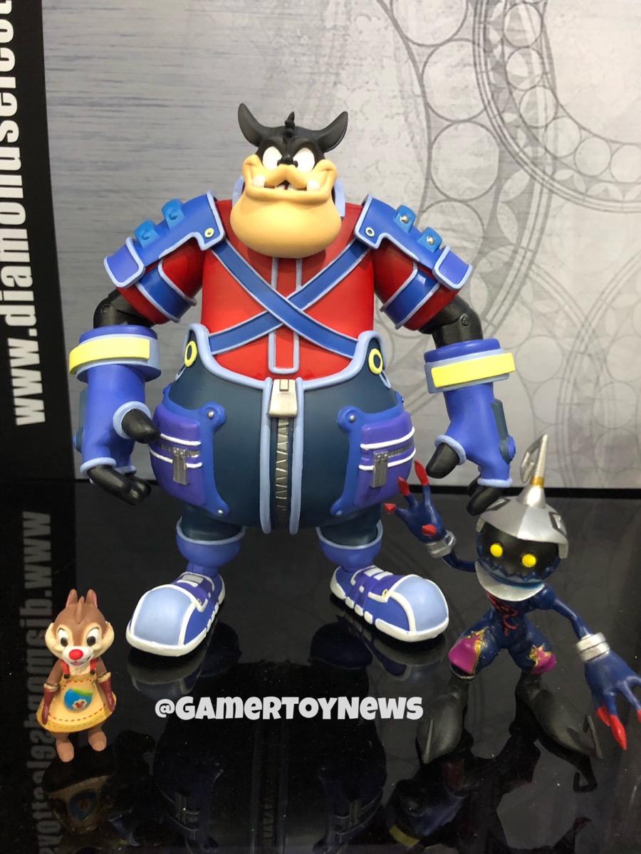 Kingdom Hearts Minimates Deluxe Tron Lightcycle with Sora