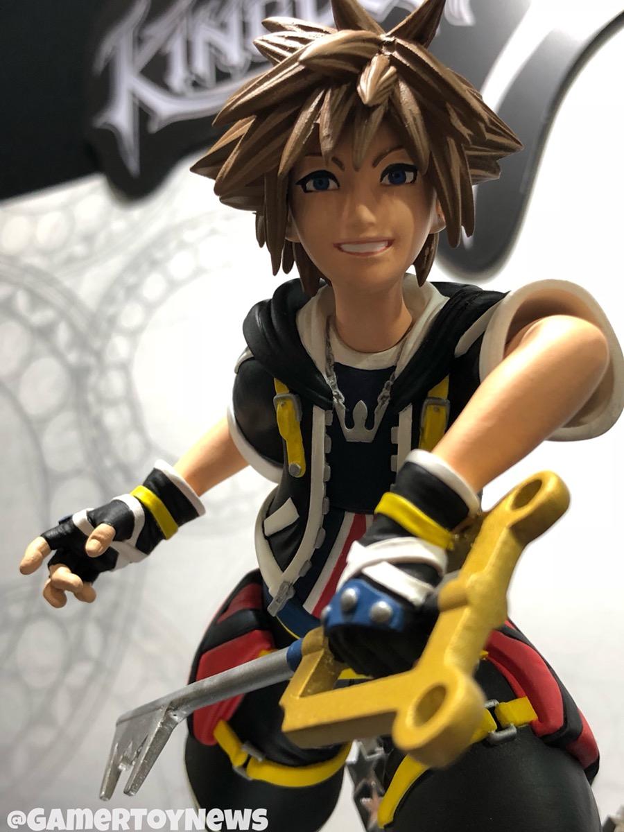 Toy Fair 2018: DST Kingdom Hearts Gallery PVC Statues & Vinimates ...
