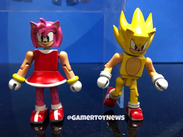 Toy Fair Dst Sonic The Hedgehog Statues Amp Minimates